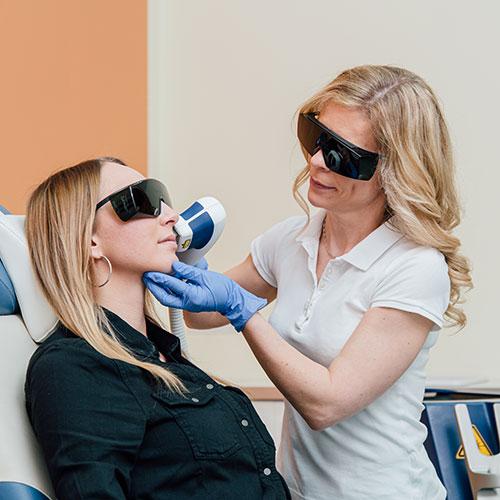 Hautärzte Braunschweig - Praxis - Lasertherapie